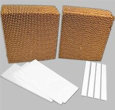 "Evaporative Cooler Replacement Pad Universal 8"" Thick Rigid Media Kit 4800 Cfm"