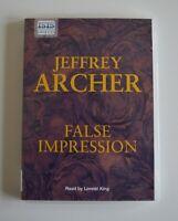 False Impression - by Jeffrey Archer - MP3CD Unabridged Audiobook