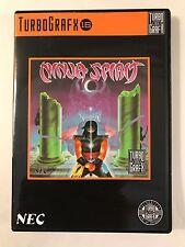 Ninja Spirit - Turbo Grafx 16 - Replacement Case - No Game