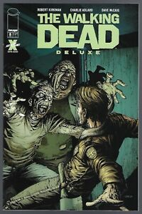 Walking Dead Deluxe # 8 Cover A Finch & McCaig Image