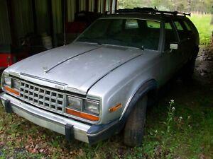 1983 AMC Eagle Wagon no paperwork 83 Barn Find Salvage Parts Car