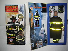 Official FDNY Collectible New York City Fire Dept. Firefighter Action Figure