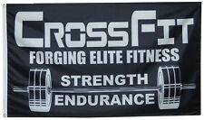 Crossfit flag forging elite fitness strength endurance 3X5FT Banner US seller