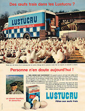 PUBLICITE ADVERTISING 124 1960  LUSTUCRU  pates MR PAUL CHEVA à MENGLON