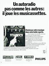 Publicité Advertising 067  1970  Philips  autoradio RN 302