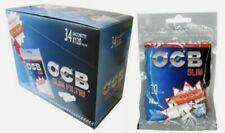1 BOX Da 34PZ  Filtri OCB Slim 6mm x120 + Cartina OCB Orange OMAGGIO- OFFERTA