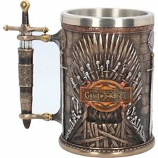 Game of Thrones : Official HBO Merchandise - Iron Throne Tankard 14cm