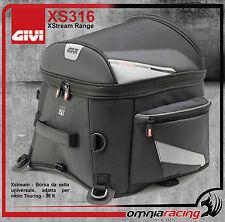 Borsa Universale da sella Moto GiVi XS316 - 35Lt Impermeabile + Tracolla + Cover