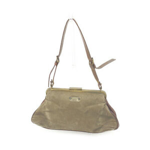 Dolce&Gabbana Shoulder bag Beige Brown Woman Authentic Used F1058