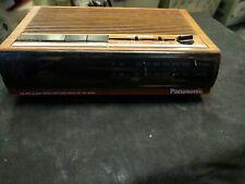 Panasonic FM/AM Clock Radio W/ Alarm Model: RC-6064 Vintage