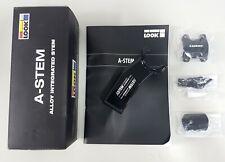 Look 15mm-adjust Aluminum 31.8mm x 80mm Length A-Stem Gloss-Black