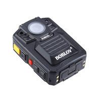 HD 1296P IR Night Vision Police Camera Person View Body Worn Camera 64GB DVR