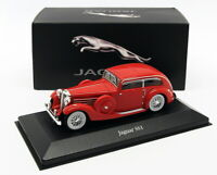 Atlas Editions 1/43 Scale Model Car 4 641 105 - Jaguar SS1 - Red