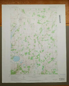 "Holdingford, Minnesota Original Vintage 1965 USGS Topo Map 27"" x 22"""