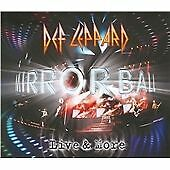 Def Leppard - Mirror Ball (Live & More/+DVD, 2011) 2 x CD + DVD USA  NEW SEALED