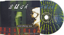 BUSH CD Everything Zen UK 4 Track inc Bud with PROMO  + PRO Release date STICKER