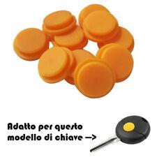 1 X TASTINO GOMMINO GIALLO CHIAVE 1 TASTO SMART FORTWO 450 COVER TELECOMANDO