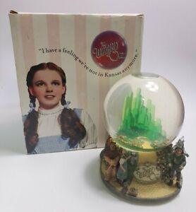 Wizard Of Oz Judy Garland Dorothy San Francisco Music Box 1999 Snow Globe