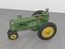 VINTAGE John Deere model A Tractor with Man Closed Flywheel ORIGINAL Nice!
