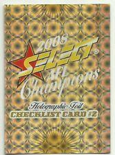 2008 AFL Select Champions Holofoil CHECKLIST #2
