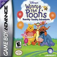 Disney's Winnie the Pooh's Rumbly Tumbly Adventure - Nintendo Game Boy Advance