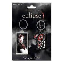 Twilight Saga Eclipse Keyring Set - Jacob Keychain Neca 2 Pack Tribal Twin
