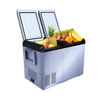Lonabr Portable 55QT Mini Freezer Fridge 12V/24V Car Refrigerator Camping Travel
