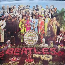 The Beatles ‎Sgt. Pepper's Lonely Hearts Club Band vinyl LP 1982 Reissue