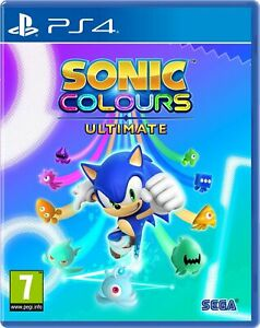 Sonic Colours Ultimate (PS4) Brand New & Sealed UK PAL