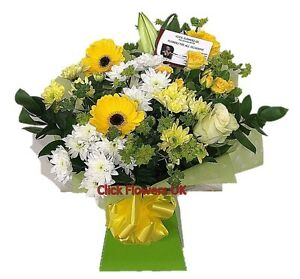 FRESH FLOWERS Delivered UK Fresh Breeze Bouquet Free Flower Delivery