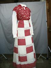 Victorian Dress Women's Edwardian Costume Civil War 1800's Western Prairie