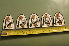 Kanvas By Katin Surfboard Trunks Vintage Surfing Sticker - Lot of 5