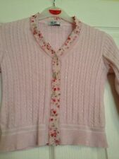 Tre Api Age 6 Pink Cardigan incredibly cute and so pretty. 100% cotton