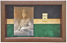 Large KOYLI Medal Display Case With Photograph For 2 Medals