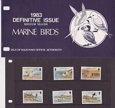 Isla de man Presentación Pack 1983 edición definitiva aves medio 10% de descuento de CUALQUIER 5+