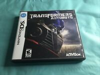Transformers Autobots Nintendo DS Complete W/Manual Activism on Rated E
