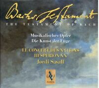 Bach: L'Angebot Musikinstrument, L'Art Der Flucht / Jordi Savall, Hesperion Xx -