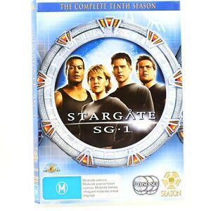 Stargate SG1 Season 10 Sci-Fi Fantasy TV Series Action DVD R4 Good Condition