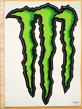 adesivi MONSTER ENERGY DRINK originali stickers decals snowboard sci Moto Bmx L