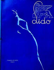 PARIS LIDO 1950 ORIGINAL PROGRAMME ANNIE CORDIE ,TED LAWRIE, BLUEBEL GIRLS.NUDES