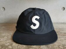 Supreme Gore Tex S Logo 6 Panel Cap - Black