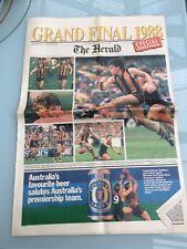 The Herald Newspaper 1988 Grand Final Souvenir of Hawthorn flag