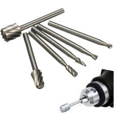 6PCS Tungsten Carbide Burr Bit Rotary Cutter Files CNC Engraving Tool 28000 rpm