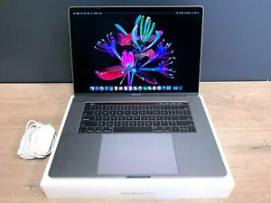APPLE MACBOOK PRO 15 TOUCH BAR | NEW BATTERY | SPACE GRAY | A GRADE | 512GB SSD