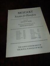 Mozart Sonatas for Pianoforte Sonata in B Flat Music Tuition Music Book L2