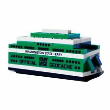 Build Your Own Ferry Cache Container Lego® Groundspeak Geocaching Nano