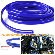 16.4ft 5M Blue 4mm Blue Car Vehicle Silicone Tubing Vacuum Tube Hose Tubing Pipe
