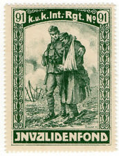 (I.B-CK) Austria (Great War) Cinderella : War Invalids Fund