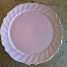 Vintage Art-pottery Medicine Hat Pottery Cup Cake ~ Platter Dish 14 Inch (Large)