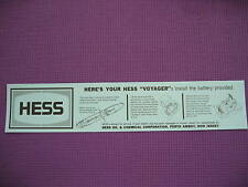 5 Hess 66 VOYAGER SHIP BOAT BATTERY INSTRUCTION CARD NEW SUPERB QUALITY